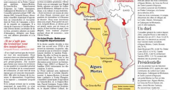 Midi-Libre : Aigues-Mortes dans un schéma classique